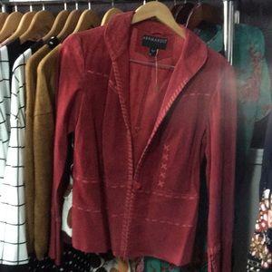 Bernardo red shade jacket